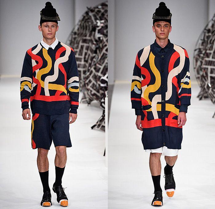Double Love: Henrik Vibskov and Knitted Dresses.