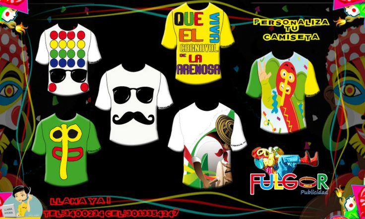 camisetas de carnaval de barranquilla | camisetas exclusivas y personalizadas para el carnaval de barranquilla ...