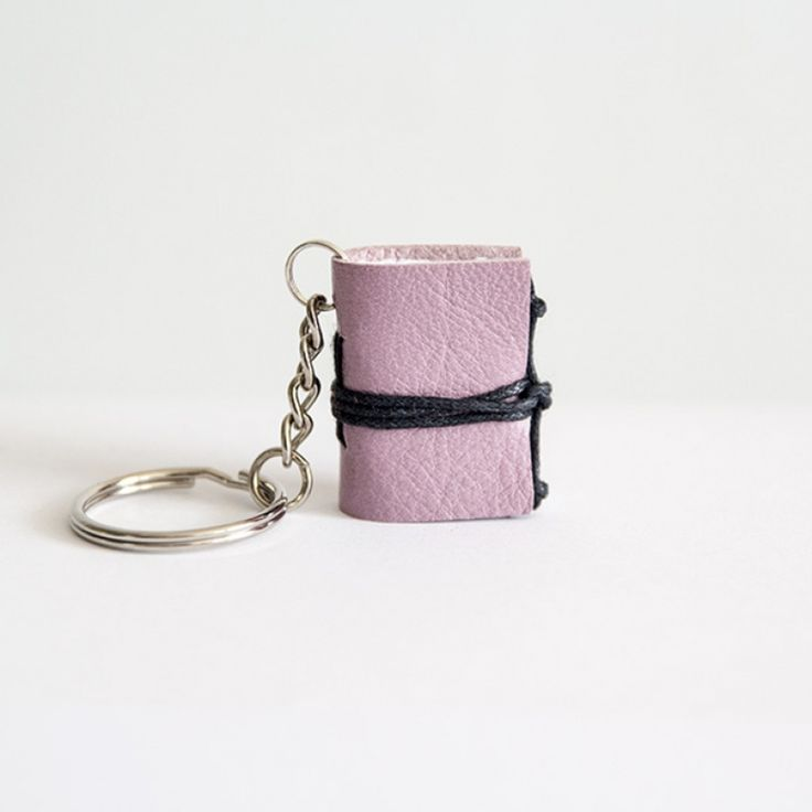 Keychain with the booklet by zimnalove