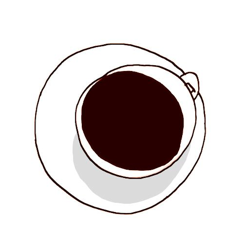 GM;  i love this design.  i can see it on a white, shiney swing tag                                       coffee simply #illustration