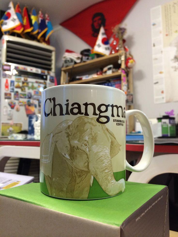 Starbucks Mug #Chiangmai in Thailand