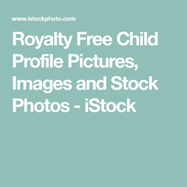 Royalty Free Child Profile Pictures, Images and Stock Photos - iStock