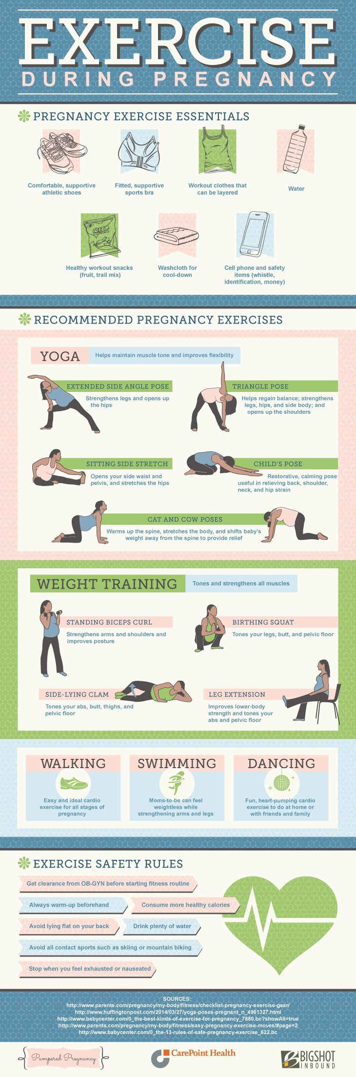 25+ best ideas about Exercise during pregnancy on ...