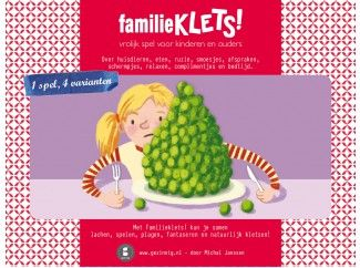 familieklets - Speel een potje kletskwartet! Over ruzie, bedtijd, afspraken, huisdieren en meer gezinsgedoe.