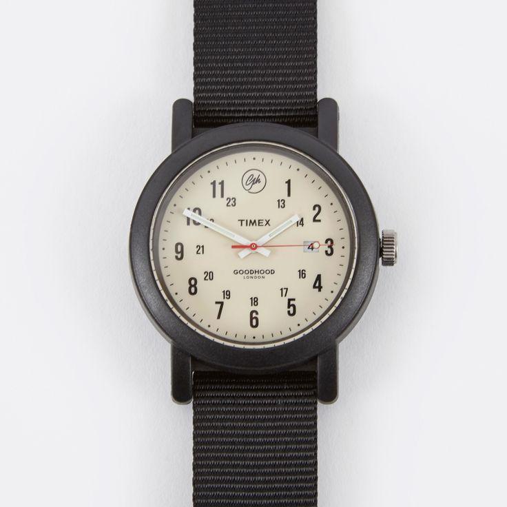 Timex x Goodhood OG Camper Watch - Black/Vintage