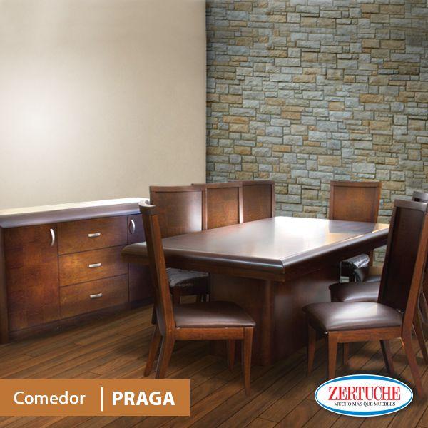 Comedor praga estilo moderno en madera y chapa de lamo en - Sillas con estilo ...