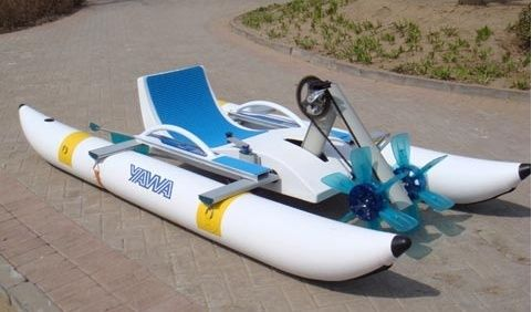 water pedal boats