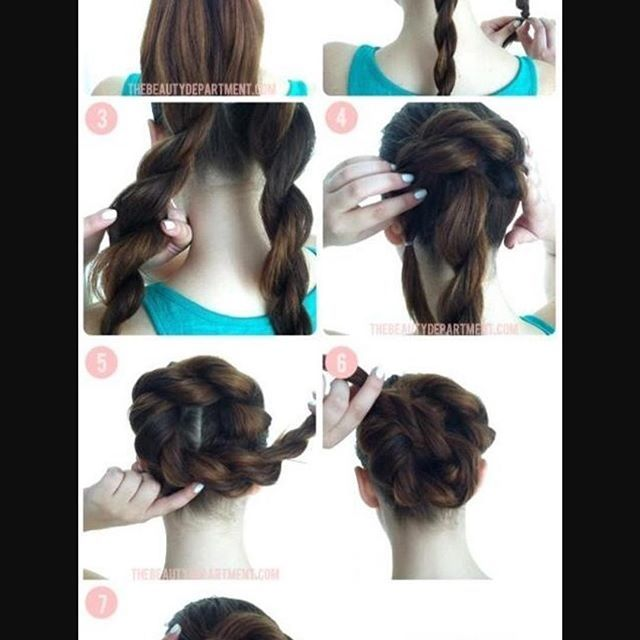 Hairstyle Easy To Do In A Few Steps Ideas And Beautiful Messy And Long Hairstyle Women Style Tips Hair Styles Easy Hairstyles Open Hairstyles