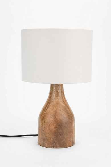 4040 Locust Wooden Lamp Base. Modern farmhouse