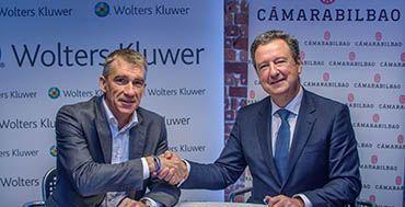 Wolters Kluwer se convierte en partner tecnológico de la Cámara de Comercio de Bilbao http://www.mayoristasinformatica.es/blog/wolters-kluwer-se-convierte-en-partner-tecnologico-de-la-camara-de-comercio-de-bilbao/n4294/