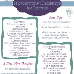 30 Day Photo Challenge for Parents