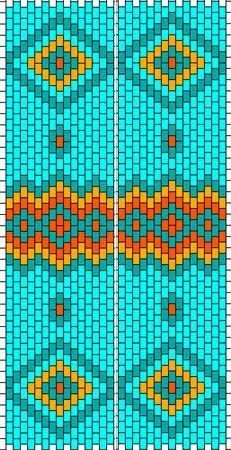 Image result for free peyote patterns
