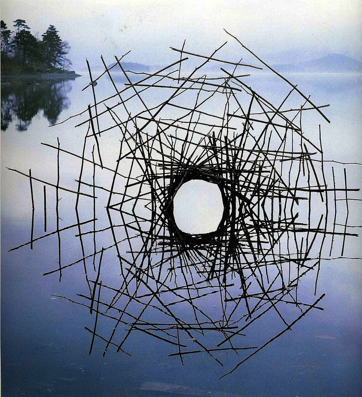 Why Does Andy Goldsworthy Use Natural Materials