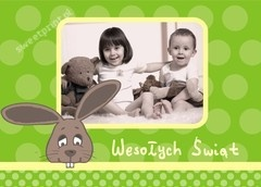$1 Fotokartka na Wielkanoc / Easter photocard