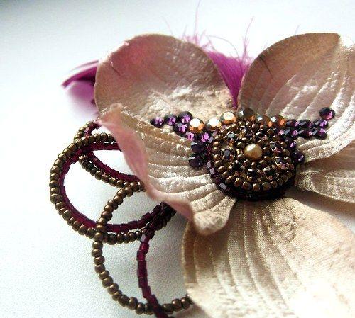 Vintage flower headpiece