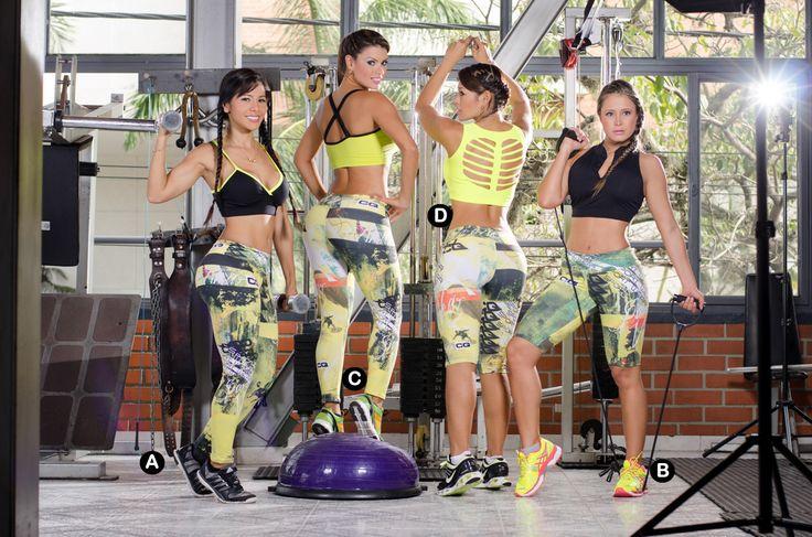 Leggins Deportivos Para Mujer  Estampados Exclusivos de la marca Caudia Quintero  Entrena Con Estilo!!
