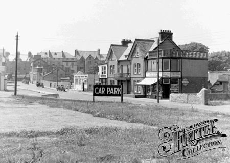 Seaton, the Town from Car Park c1950 - Francis Frith collection