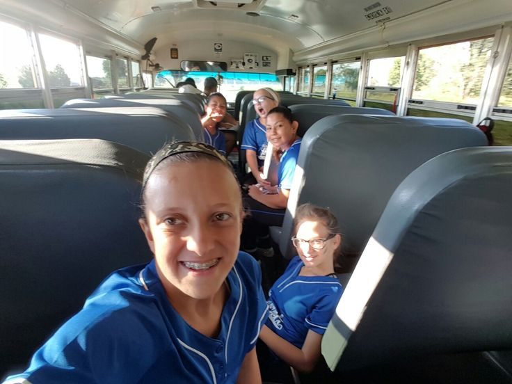 We are going to state in softball we are the very team in are school to make it we made history in are school  that is not all of are girls the rest of them o.are in the back
