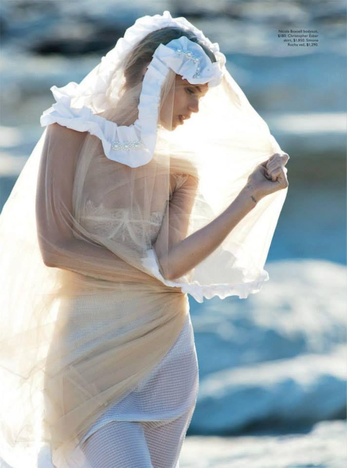 Abbey Lee Kershaw Vogue Australia April 2014