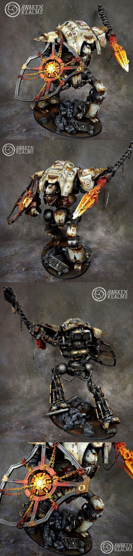 Imperial Knight Cerastus Lancer details
