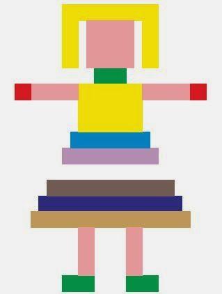 Lernplatz: farbige rechenstäbchen