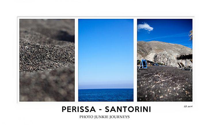 Photo junkie journeys Perissa - Santorini
