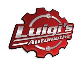 Luigi's Automotive Logo Design