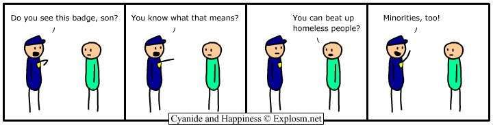 sad but true, so it's funny