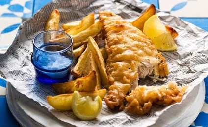 Flavours to savour - fish & chips from the Harbour