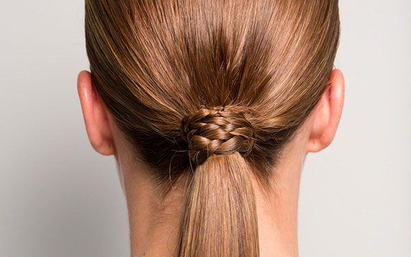 Summer trend to try: low ponytails