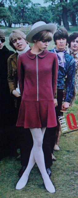 Mary Quant & The Perfect Wine Mini Dress.