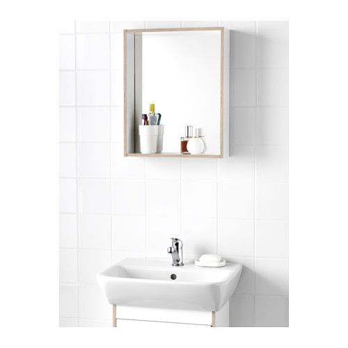IKEA TYNGEN mirror with shelf Perfect in a small bathroom.