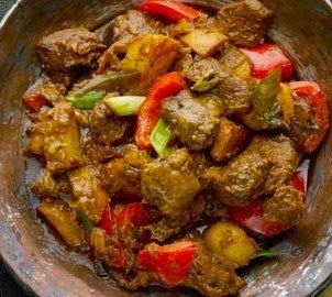 Bengali Recipe: Mutton With Potato And Lime