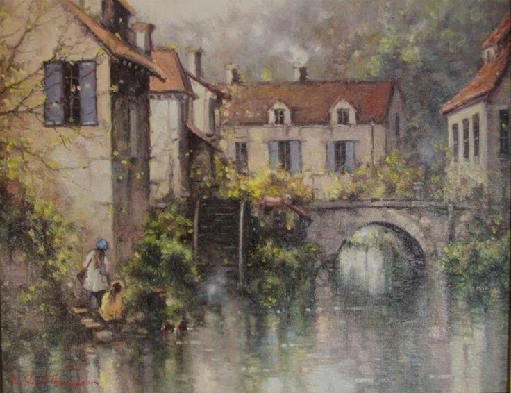 'Brantome Reflections, France'