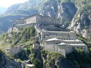 Frtress of Bard, Aosta Valley, Italy