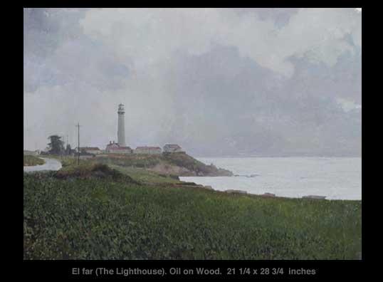Xavier Rodés, El far (The Lighthouse). See it at Axelle Fine Arts Galerie, 91 Newbury Street, Boston