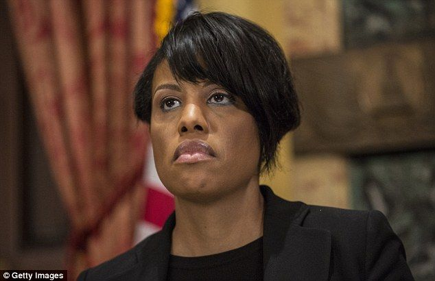 Curfew lifted:Mayor Stephanie Rawlings-Blake said 'My goal has always been to not have the curfew in place a single day longer than was necessary'