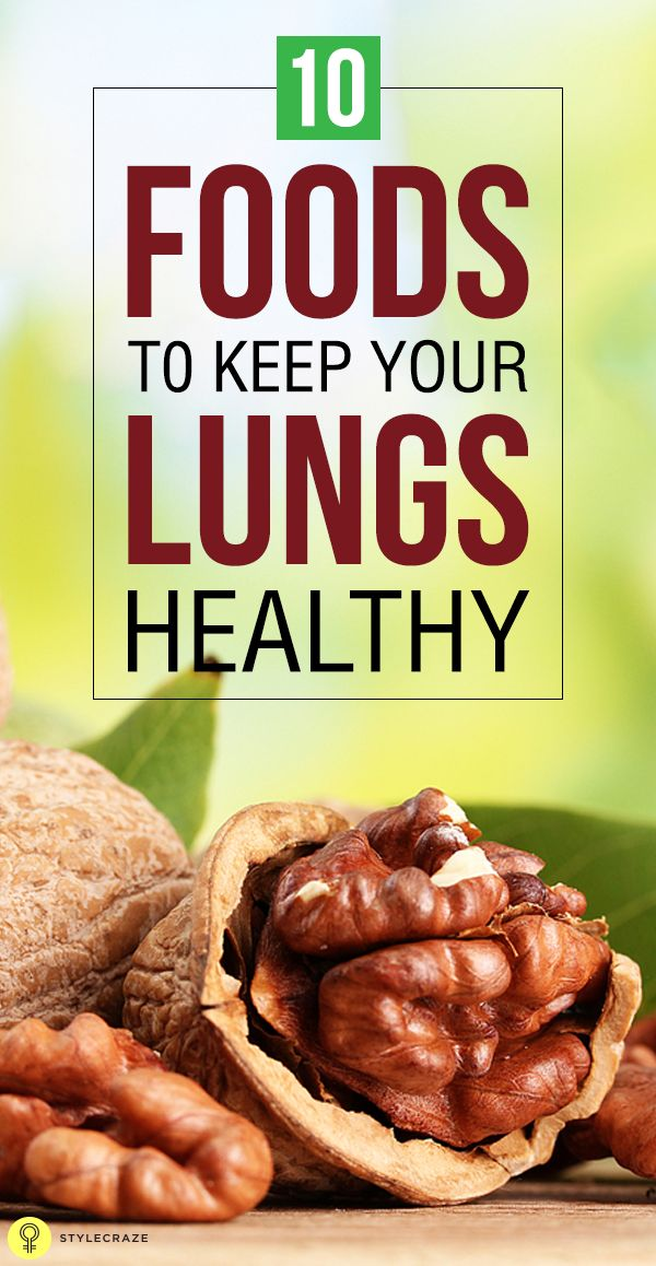 We can also keep our lungs healthy by eating food that is good for the lungs. A ... 1
