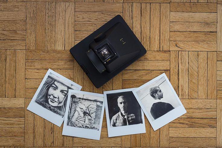 Make polaroid framed photos in photoshop using template Easy - polaroid template