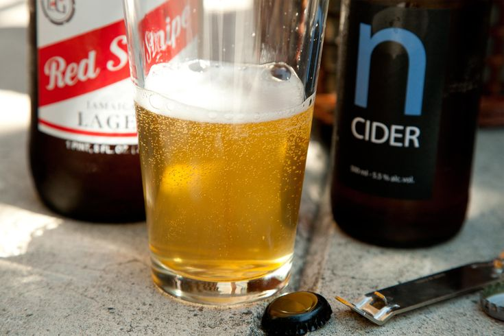 This simple beer cocktail recipe is a refreshing mix of crisp cider and light lager.