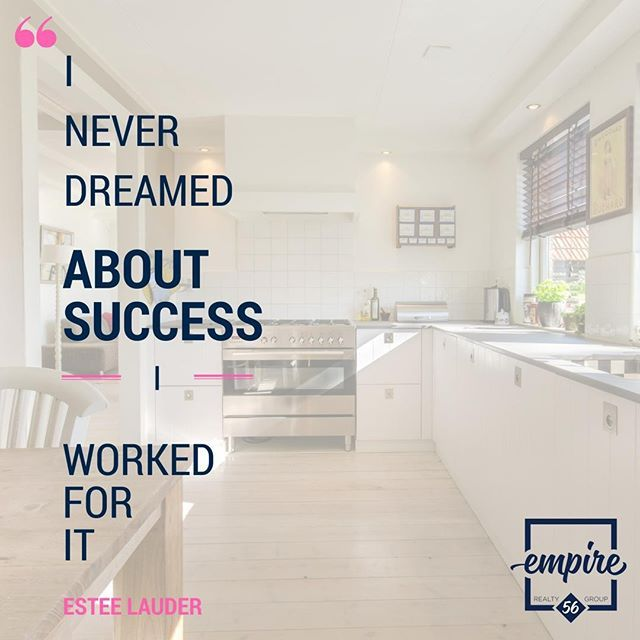 Success is not handed to you it's what you make of it. . . . . . #qotd #realestate #success #goals #esteelauder #investment #hardworkpaysoff #newproperty #dreams #hwpo #reachyourgoals #motivationmonday #future #futuregoals #sellyourhouse #findyourhome #buyahome #burlingtonrealestate #oakvillerealestate #hamiltonrealestate #mississaugarealestate #burlon #hamont #oakvilleon #yyzrealestate #yyz #treb #rahb #gta #gtarealestate