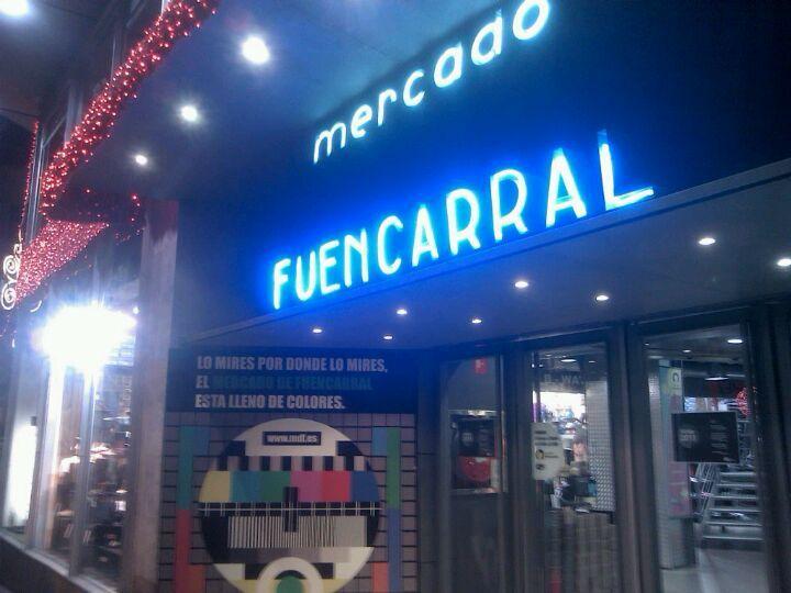 Mercado de Fuencarral à Madrid, Madrid