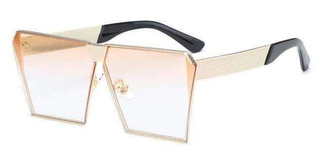 ROYAL GIRL New brand designer Mirrored Glasses Shield style Sunglasses Women Vintage Oversize Sun glasses ss812 Eyewear Type: SunglassesItem Type: EyewearGend