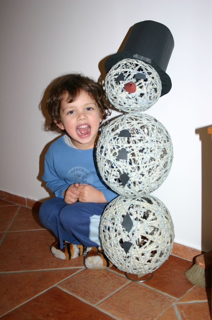 hóember / snowman