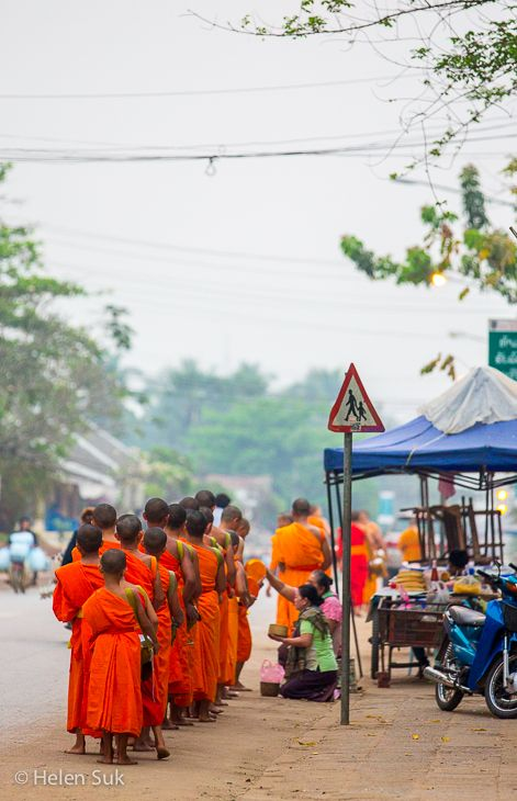 """The highlight of my visit to Laos was """"tak bat"""", the alms-giving ceremony that takes place every morning in Luang Prabang. Click to find out what else I loved about this once isolated country."""