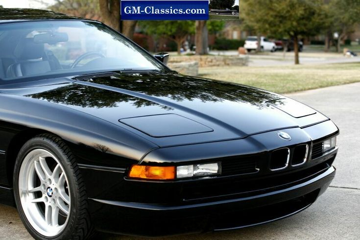 1991 BMW 850 V12 6 Speed Home Page