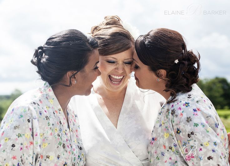 A lovely moment with your bridesmaids getting ready portraits.