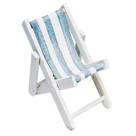 Mini Folding Beach Chairs, Beach Wedding Favors