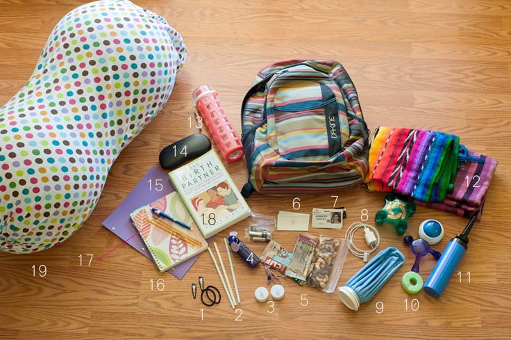 example of a simple doula supply bag