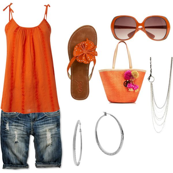 summer fun, created by annie-barnett on Polyvore